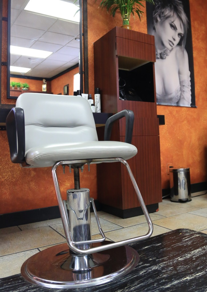 Full Chair at Upstairs Hair Salon